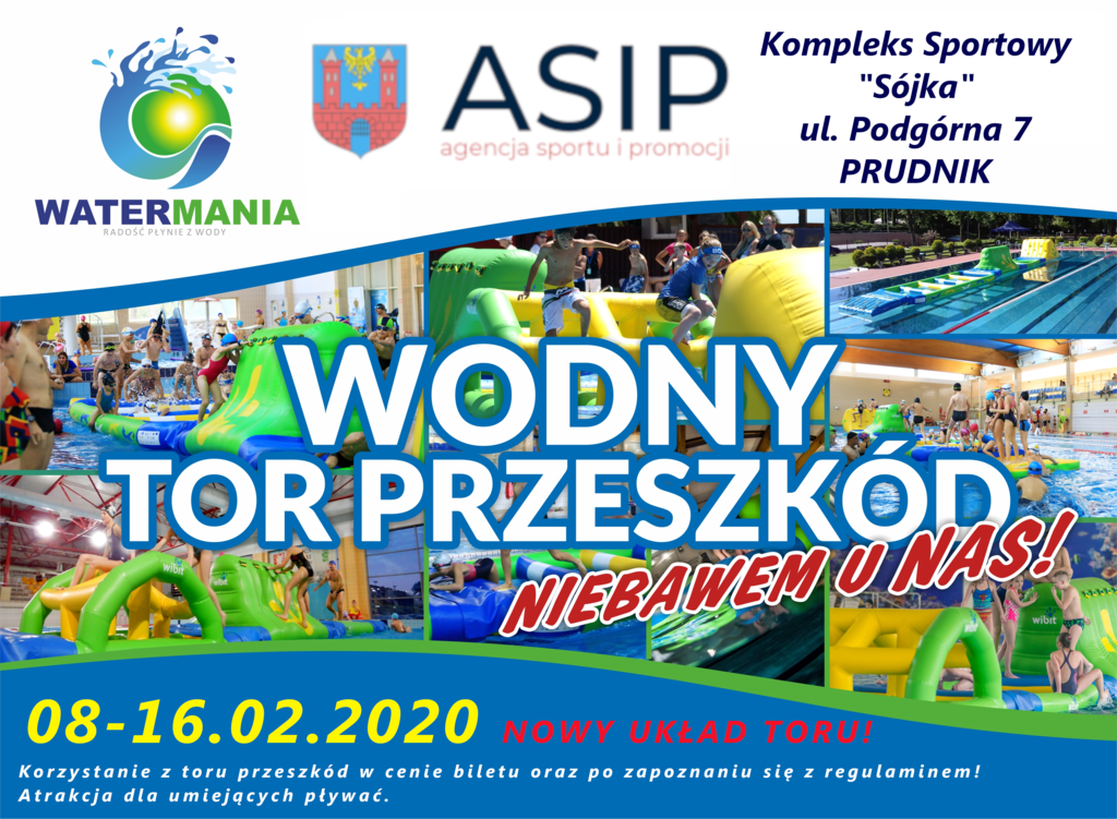 WATERMANIA plakat [Prudnik Ferie2020.png