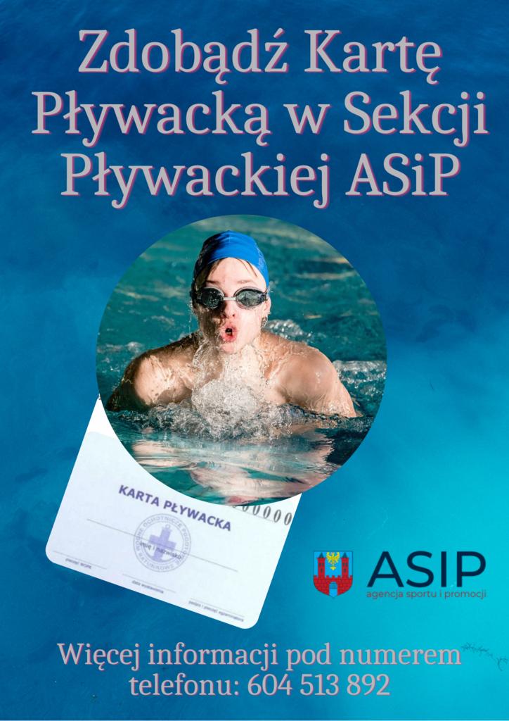 Karta pływacka w Sekcji pływackiej ASiP.png