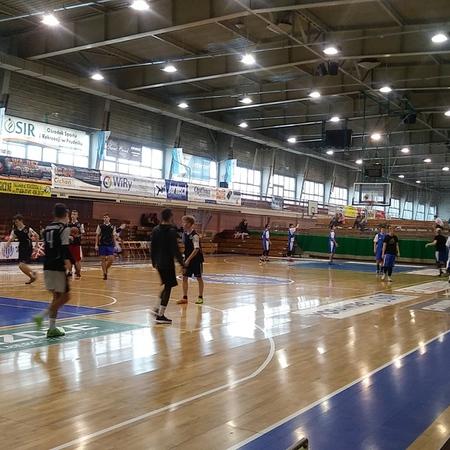 Galeria Półfinał Koszykówki chłopców gimnazja