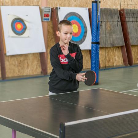 Turniej tenisa stołowego - Ferie z OSiR Prudnik 2019