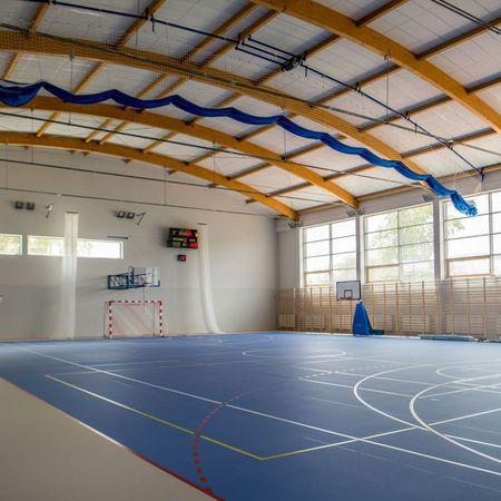 Galeria hala w kompleksie sportowym Sójka
